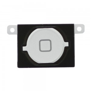 iPhone 4S - Home button White with rubber