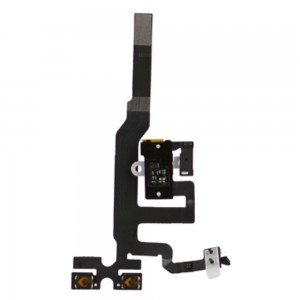 iPhone 4S - Volume/Jack Flex Cable  White