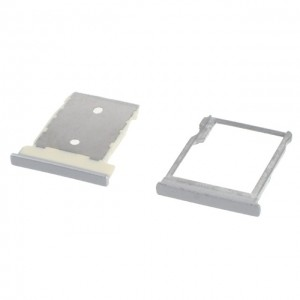 HTC One M9 - SIM Card and Micro SD Tray Holder Silver