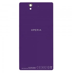 Sony Xperia Z L36H - Battery Cover Purple