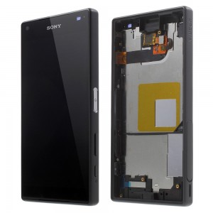Sony Xperia Z5 Compact E5823 - Full front LCD Digitizer With Frame Black