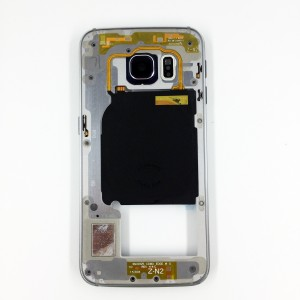 Samsung Galaxy S6 Edge G925 - Middle frame Black