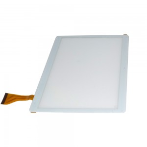 Universal 10.6 inch 50 Pins DH-1069A4-PG-FPC264 / MJK-0419-FPC - Front Glass Digitizer White