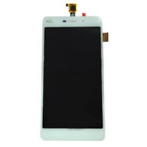 Wiko Pulp Fab 4G - Full Front LCD Digitizer White