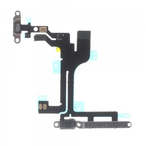 iPhone 5C - Power + Volume Flex cable with plates