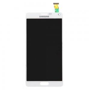 Samsung Note 4 N910F - Full Front LCD Digitizer White