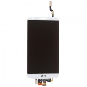 LG Optimus G2 D802 - Full Front LCD Digitizer White