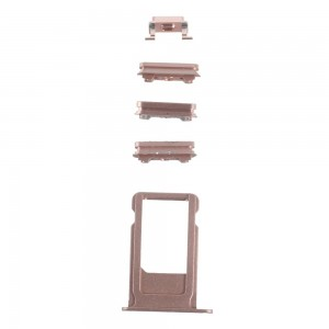 iPhone 6S -  SIM Card Tray Holder and Side Button Set Rose Gold