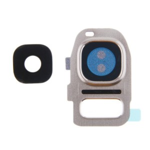 Samsung Galaxy S7 G930F - Camera Lens Complete Gold