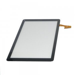 Universal 10.1 inch 50 Pins DH-1012A2-FPC062-V6.0 - Front Glass Digitizer Black