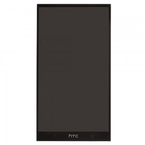 HTC One Max - Full Front LCD Digitizer Black