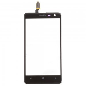 Nokia Lumia 625 - Front Glass Digitizer Black