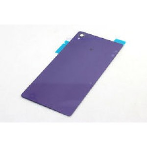 Sony Xperia Z3 D6603, D6643, D6653 - Battery Cover Black Purple