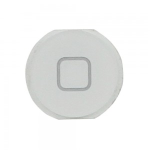iPad Mini - Home Button Plastic White