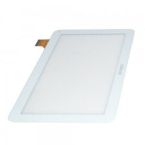 Universal 10.1 inch 45 Pins QSD-701-10059-02 - Front Glass Digitizer White