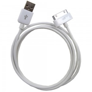 iPhone 3 / 4 - USB Data Cable White