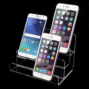 3-layer Clear Acrylic Display Holder