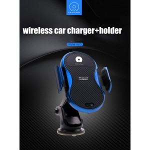 Electric Car Holder with Qi-enabled Wireless Charger WUW-W10