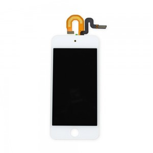 iPod 5th Gen - Full Front LCD Digitizer White