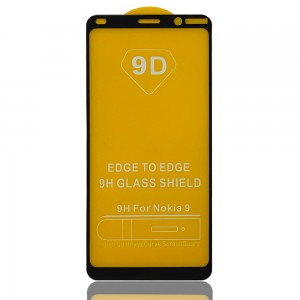 Nokia 9 PureView - Full Arc Tempered Glass Black