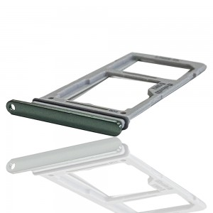Samsung Galaxy S10e G970 -  Sim Tray Holder Duos Prism Green