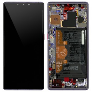 Huawei Mate 30 Pro - Full Front LCD Digitizer Black