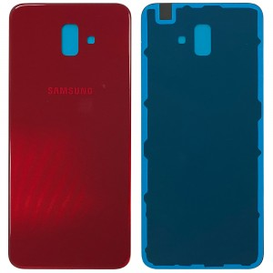 Samsung Galaxy J6+ 2018 J610 - Battery Cover with Adhesive Red