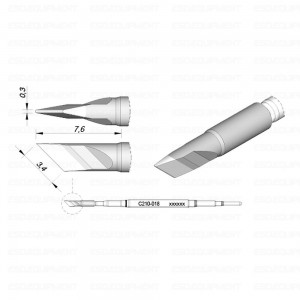 JBC - Soldering tip for T210-A / T210- NA C210-018