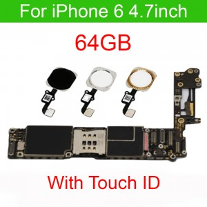 iPhone 6 - 64 GB Motherboard Fully Functional with Touch ID