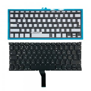 Macbook Air 13 inch A1369 A1466 2011-2014 - Portuguese Keyboard PT Layout with Backlight