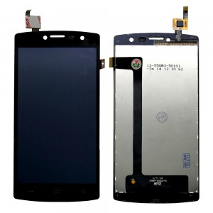 Archos 50B Platium - Full Front LCD Digitizer Black