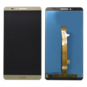 Huawei Ascend Mate 7 - Full Front LCD Digitizer Gold