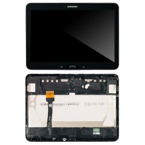 Samsung Galaxy Tab 4 10.1 T530 - Full Front LCD Digitizer with frame Black