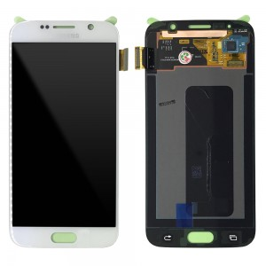 Samsung Galaxy S6 G920F - Full Front LCD Digitizer White