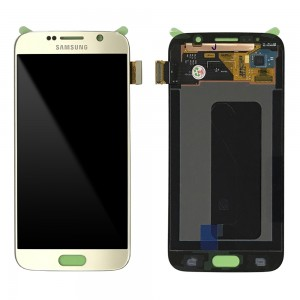 Samsung Galaxy S6 G920F - Full front LCD Digitizer Gold