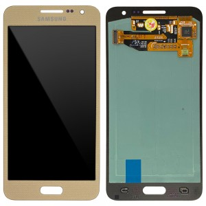 Samsung Galaxy A3 A300- Full Front LCD Digitizer Gold