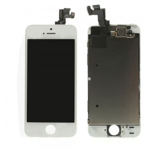 iPhone 5S / SE – LCD Digitizer (original remaded) Full assembled White