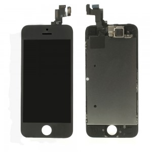 iPhone 5S / SE – LCD Digitizer (original remaded) Full assembled Black