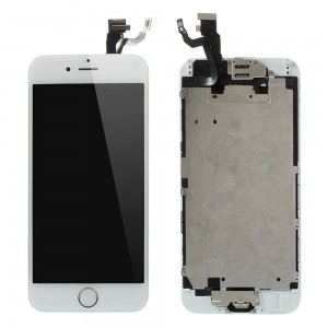 iPhone 6 Plus – LCD Digitizer (original remaded) Full assembled White