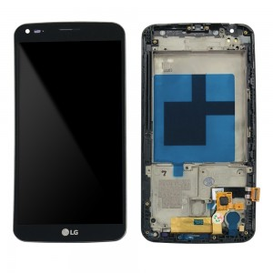 LG G Flex D950 - Full front LCD Digitizer With Frame Black