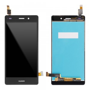 Huawei Ascend P8 Lite - Full Front LCD Digitizer Black