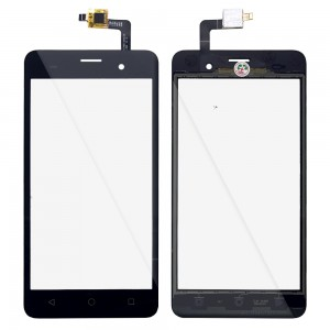 Wiko Jerry - Front Glass Digitizer Black