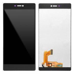 Huawei Ascend P8 - Full Front LCD Digitizer Black