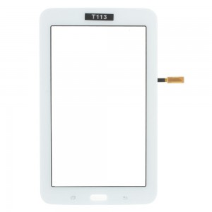 Samsung Galaxy Tab 3 Lite 7.0 T113 - Front Glass Digitizer White