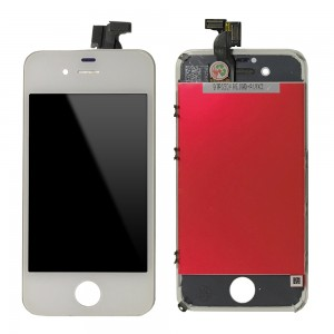 iPhone 4S - LCD Digitizer  (original remaded)   White