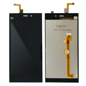 Xiaomi Mi 3 - Full Front LCD Digitizer Black