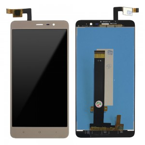 Xiaomi Redmi Note 3 - Full Front LCD Digitizer Gold