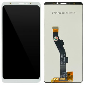 Samsung Tab S 10.5 SM-T800 - Full Front LCD Digitizer Silver