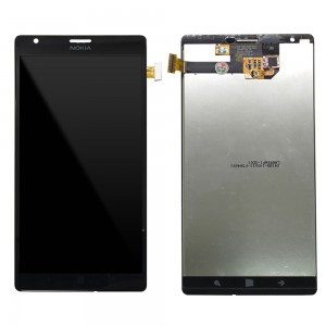 Nokia Lumia 1520 - Full Front LCD Digitizer Black
