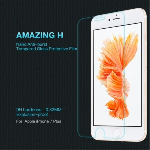 iPhone 7 Plus - NillKin Tempered Glass Screen Protector Amazing H